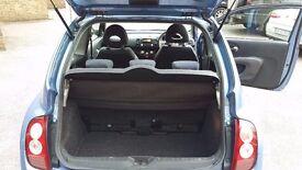 2004 1.2L Nissan Micra SE 3 doors, 5 seats - good runner 12 mths MOT