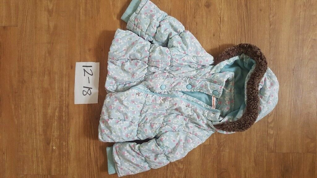 Girls coat / jacket size 12 to 18 months