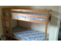 SHORTY PINE BUNK BEDS
