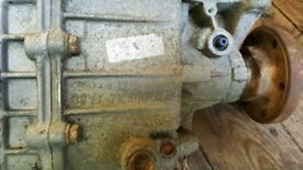 GEARBOX TRANSIT , 80S ERA, LATE 80S EARLY 90S , 5 SPEED MT 75