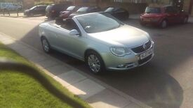 2007 Volkswagen VW EOS 1.6 T-FSI 69k / 2Keys / Service History / Pano Roof / Parking Aid/ £2650 ONO