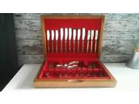1970s silver plated cutlery set