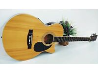 TANGLEWOOD F2CSN Small Bodied Electro Acoustic Guitar With Hardcase