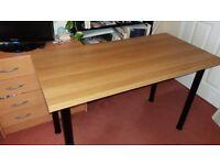 IKEA desk - VIKA AMON table top
