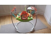 Fisher-Price Roaring Rainforest Jumperoo - immaculate condition - as new