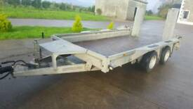 Ifor Williams plant trailer 12x6