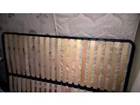 double bed - slats frame