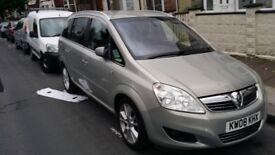 Vauxhall zafira elite 1.9cdti good condition 150bhp
