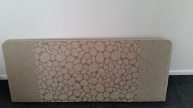 NEW Headboard (Single Double King Bed) 5ft Pebble Butterscotch Deluxe Quality
