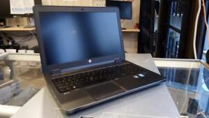 HP ZBook G2 - 16Gb RAM - 4Gb nVidia Quadro K3100M - 1 Year Warranty - 256Gb SSD + 750Gb SATA (Up to 2Tb SSD)