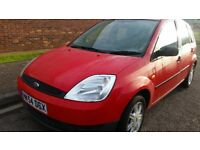 FORD FIESTA ,12MONTHS MOT, SERVICE HISTORY, CHEAP ON FUEL AND TAX, ALLOY WHEELS, BIG BOOT, £595ONO