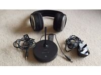 Sony rechargeable stereo wireless headphones - NOT bluetooth