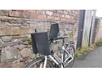 Bobike mini front bicycle childs seat