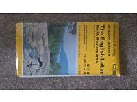 4 Lake District Ordnance Survey Maps