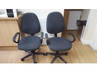 Four Office Chairs - Pick Up Only