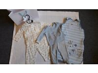 Baby Boy Pyjamas 3-6 months including Sleeping bag 0-6 months