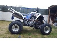 yamaha raptor 700r road legal quad bike