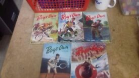 Boy's Own Paper Collection Of 5 At Sue Ryder Dorchester (Lot 9)