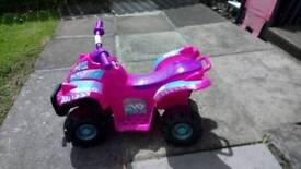 Pink Toddler Quad Bike