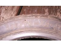 Scooter Tyre 110 /70/12