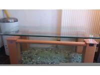 Designer coffee glass fish tank OFFERS!!!!