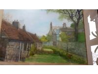 Grants-Palace ABERDEEN Painting - Very nice unsigned - Very good condition 1970s