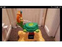 Baby activity bouncy musical toys + a free elefun