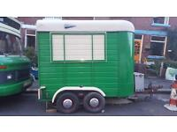 Vintage Horse Box Street Food Catering Trailer - ready to go!!