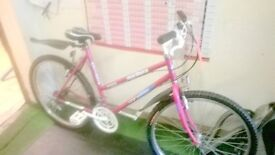 TOWN BIKE NEW TYRES AND BRAkES FULLY RESTORED