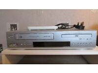 dvd and vhs player combi