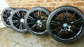 """Mint condition 18"""" bmw 320 msport style"""
