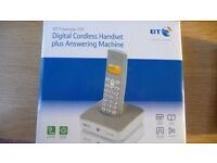 BT Freestyle 335 Digital Cordless Handset plus Answering Machine