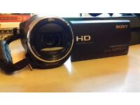 Sony handycam HDR-CX240 for sale no box couple of scratches on body