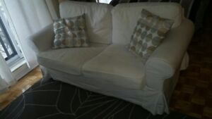 Couch - love seat $75 OBO