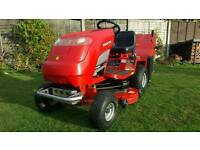 COUNTAX C400H RIDE ON MOWER WITH POWERED GRASS COLLECTOR