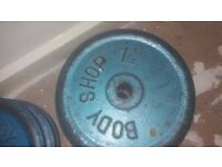 Weights. Weights Bench Curling Bar Collect Oldham