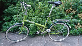 Raleigh Shopper Twenty Vintage 70s modern upgrade: wheels, seat, pedals etc. + spare tyres