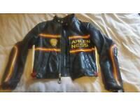 ARLEN NESS MOTORCYCLE JACKET RETRO CAFE RACER
