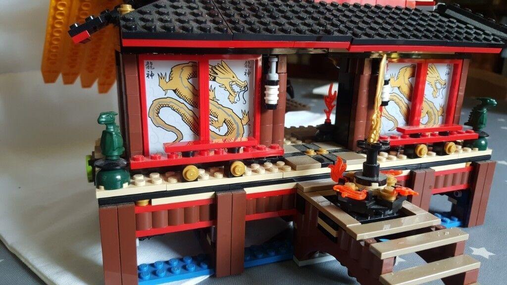 Lego Ninjago Fire Temple Original Instructions In North Walsham