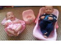 New born baby dolls