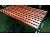Garden/patio table.