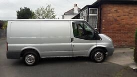 Silver transit van very clean and straight van only 2 owners owned for 7 years
