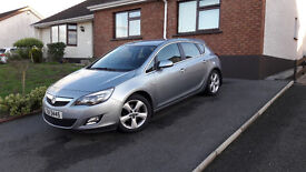 2010 Vauxhall Astra 1.6 SRI 5 Door Silver