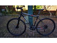 Trek 7500 hard tail Alpha aluminium framed hybrid bike/bicycle