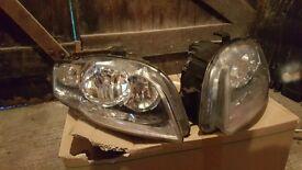 OEM Audi A4 B7 headlamps