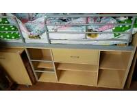 Kids cabin bed and wardrobe