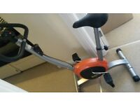 Basic exercise bike in excellent condition