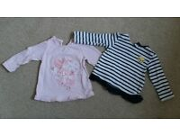 Bundle of girl clothes 0 -1.5 months