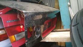 Black Civic EG Coupe Tailgate