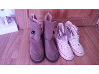 2 pairs of Womens boots